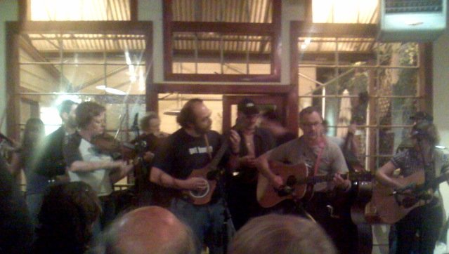 Atlas Cafe bluegrass jam