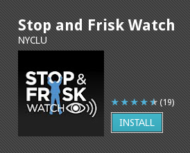 Stop-and-Frisk Watch App