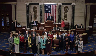 U.S. House of Representatives, Democratic Party sit-in, 22 June 2016